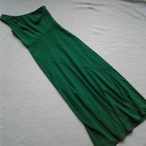 Alex Evenings Dress Maxi One Shoulder Green 6